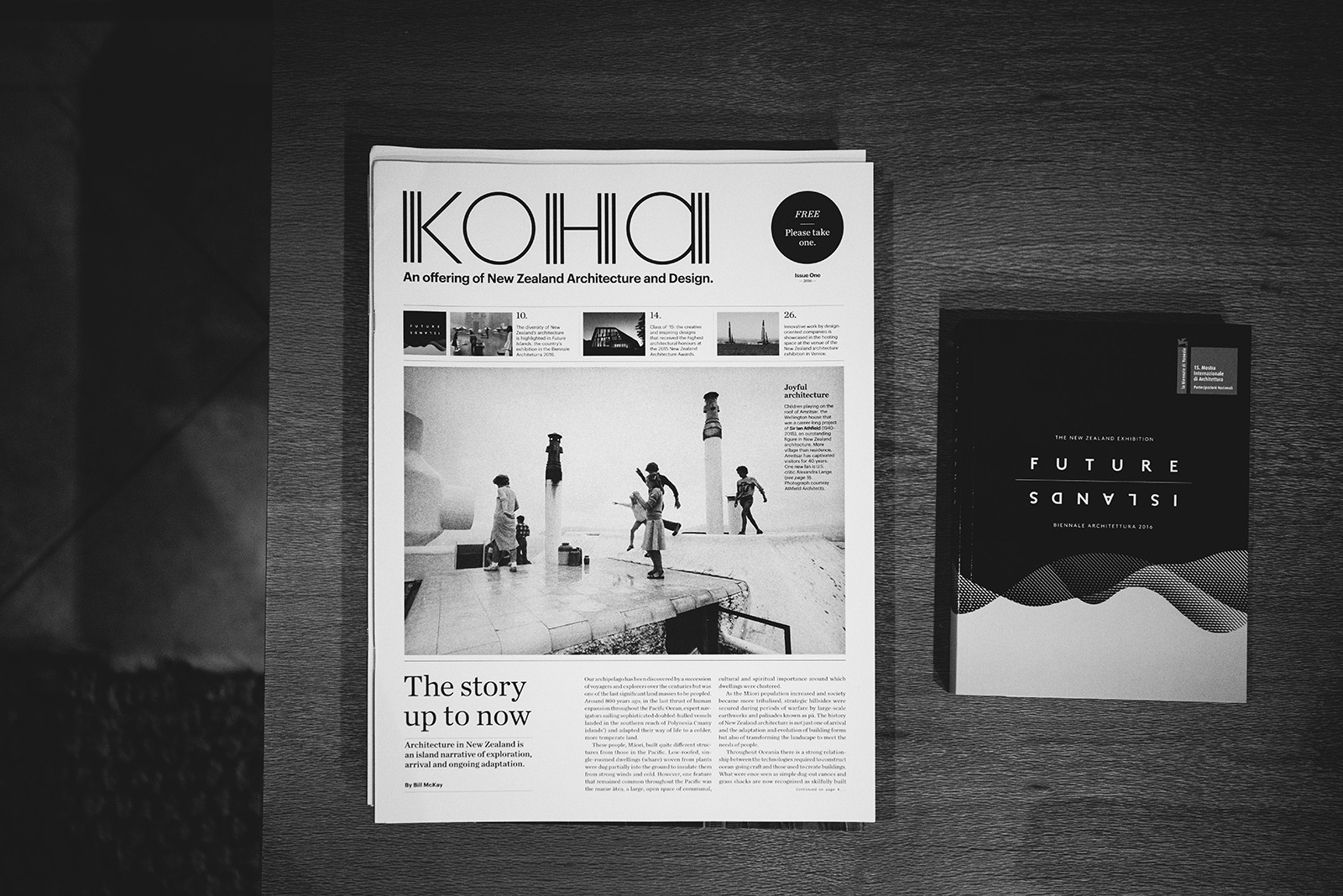 'Koha', published by the New Zealand Institute of Architects